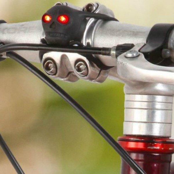 MACHINE HEAD - Skull led bike lights, LED-cyckelljus