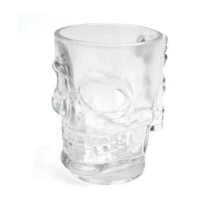 MUGGEN - Ölglas formad som en dödskalle