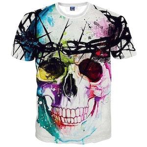 HARAJUKU - Dödskalle herr T-shirt