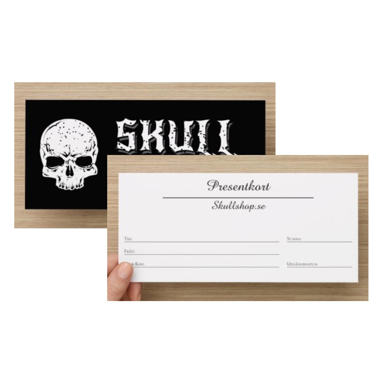 Presentkort på Skullshop