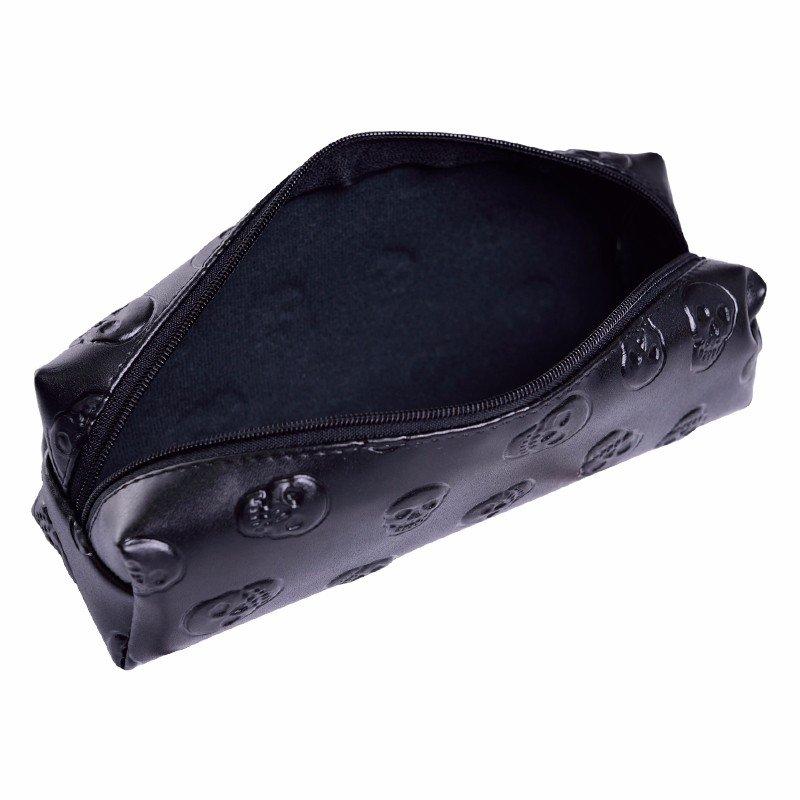 BLACK VELVET - Avlång sminkväska eller pennskrin