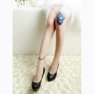 TATTOO STOCKS - Strumpbyxor med tatueringsmönster