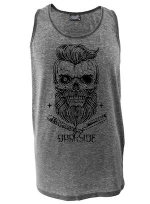 DARKSIDE - Bearded Skull Vest Burnout