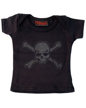 DARKSIDE - Distressed Skull Baby T Shirt