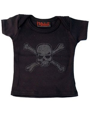 DARKSIDE - Distressed Skull Baby T Shirt