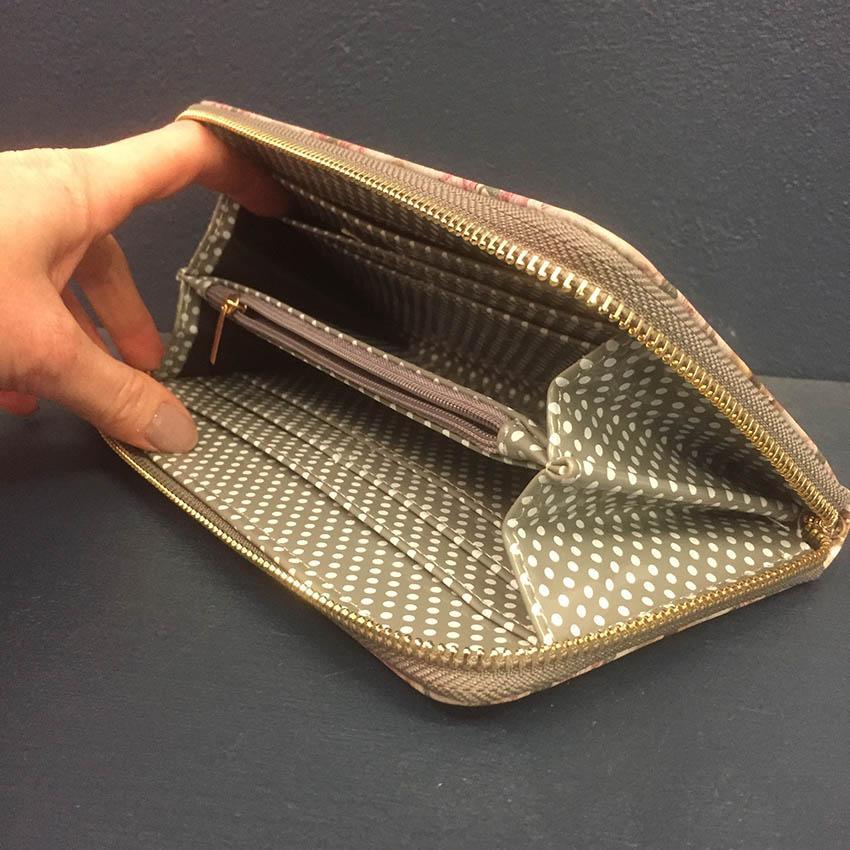 MIRROR MIRROR - Plånbok med dragkedja
