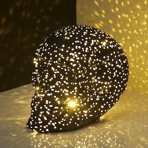 LED - Lysande LED-dödskalle