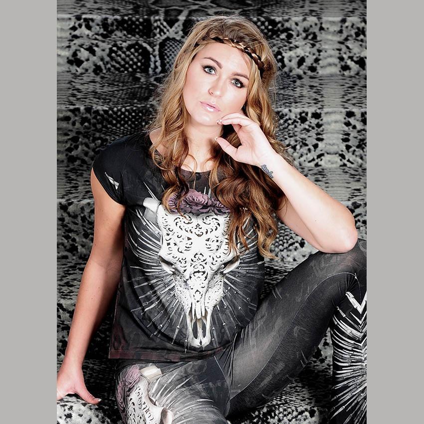 SILVER STEER -  T-shirt design Van Asch