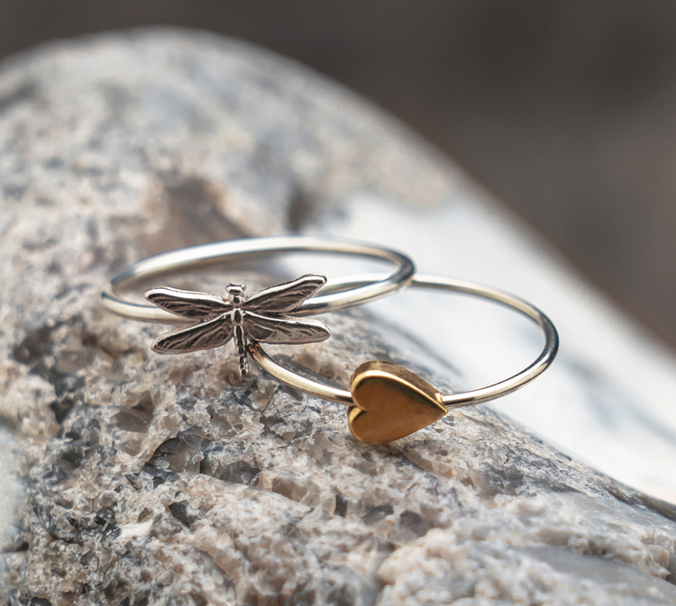 DRAGONFLY RING 925 STERLING SILVER