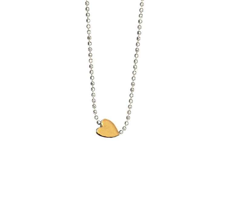 HEART NECKLACE 18K GOLD