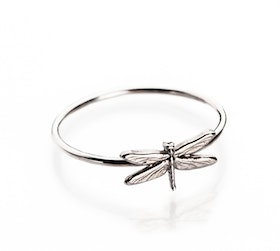 DRAGONFLY RING SILVER