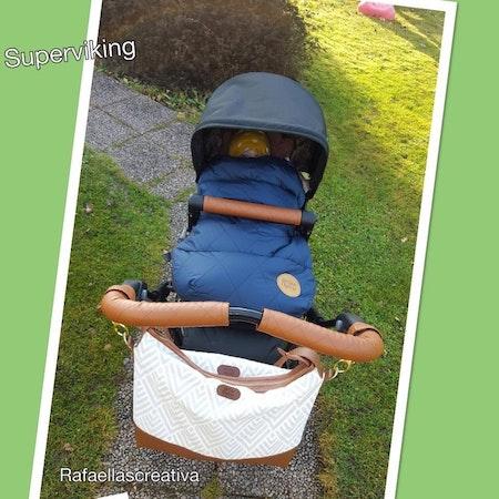 Handtagsskydd och bumperskydd till Emmmaljunga SUPERVIKING