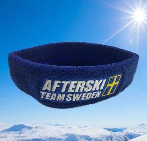 Pannband - Afterski Team Sweden