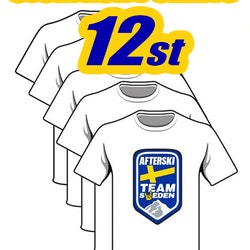 Storpack 12st Afterski Team T-shirts