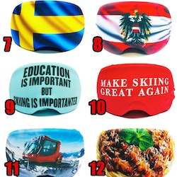 Mix Pack - Goggle Skin 10 pack