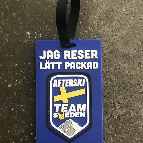 "Bagage Tag - ""Lätt Packad"""