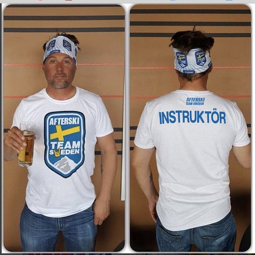 "T-Shirt ""INSTRUKTÖR"" Afterski Team Sweden"