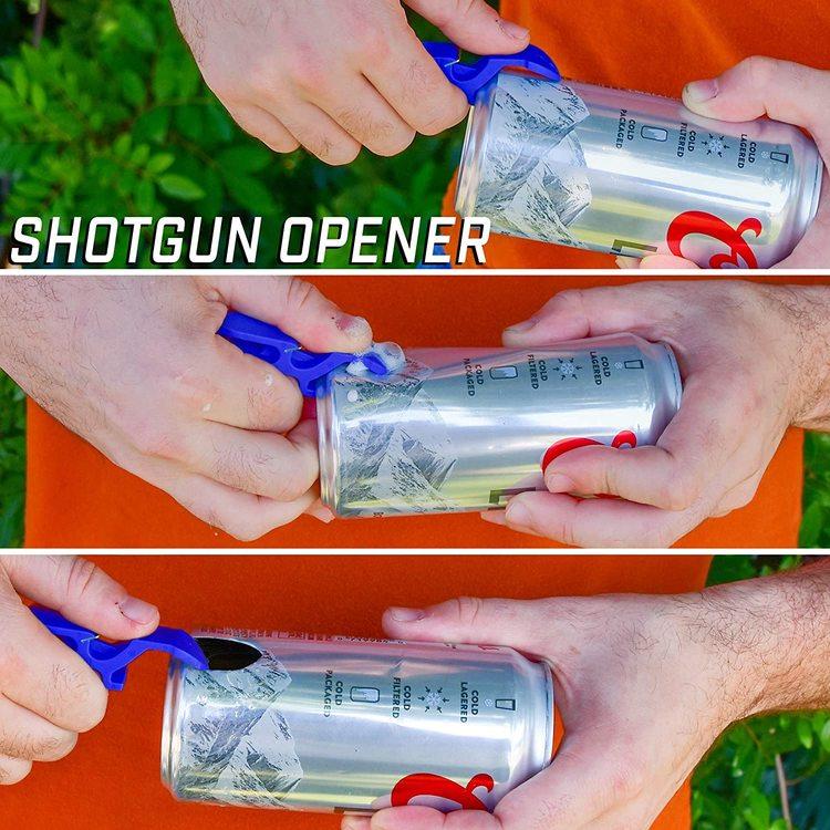 "Multi ""Shotgun"" Kapsylöppnare"