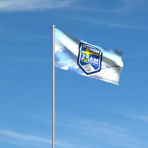 Landslagsflagga till Flaggstång Large