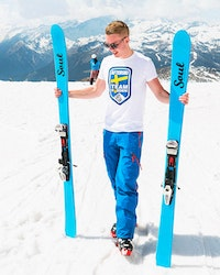 Afterski Team Sweden Tee - Vit