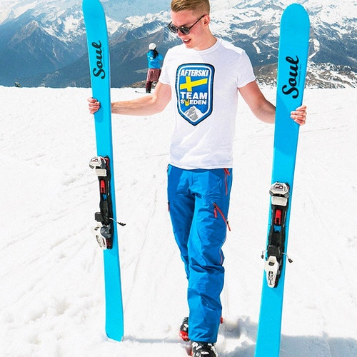 T-Shirt - Afterski Team Sweden