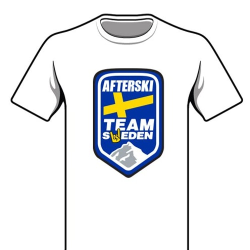 T-Shirt - Afterski Team Sweden
