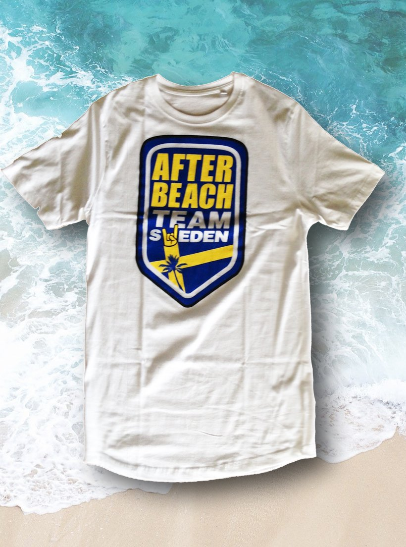 T-Shirt - After Beach Team Sweden