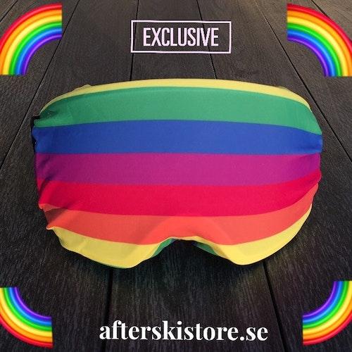 """AfterSkin - Goggles Skydd """"Regenbogen"""""""