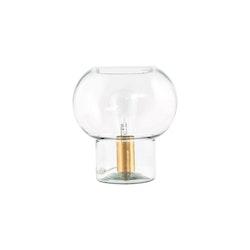 House Doctor Mush Bordslampa Glas/mässing