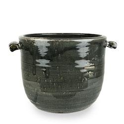 Olsson & Jensen kruka keramik grå