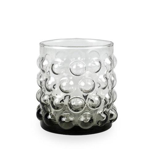 Olsson & Jensen glas bubblor grå