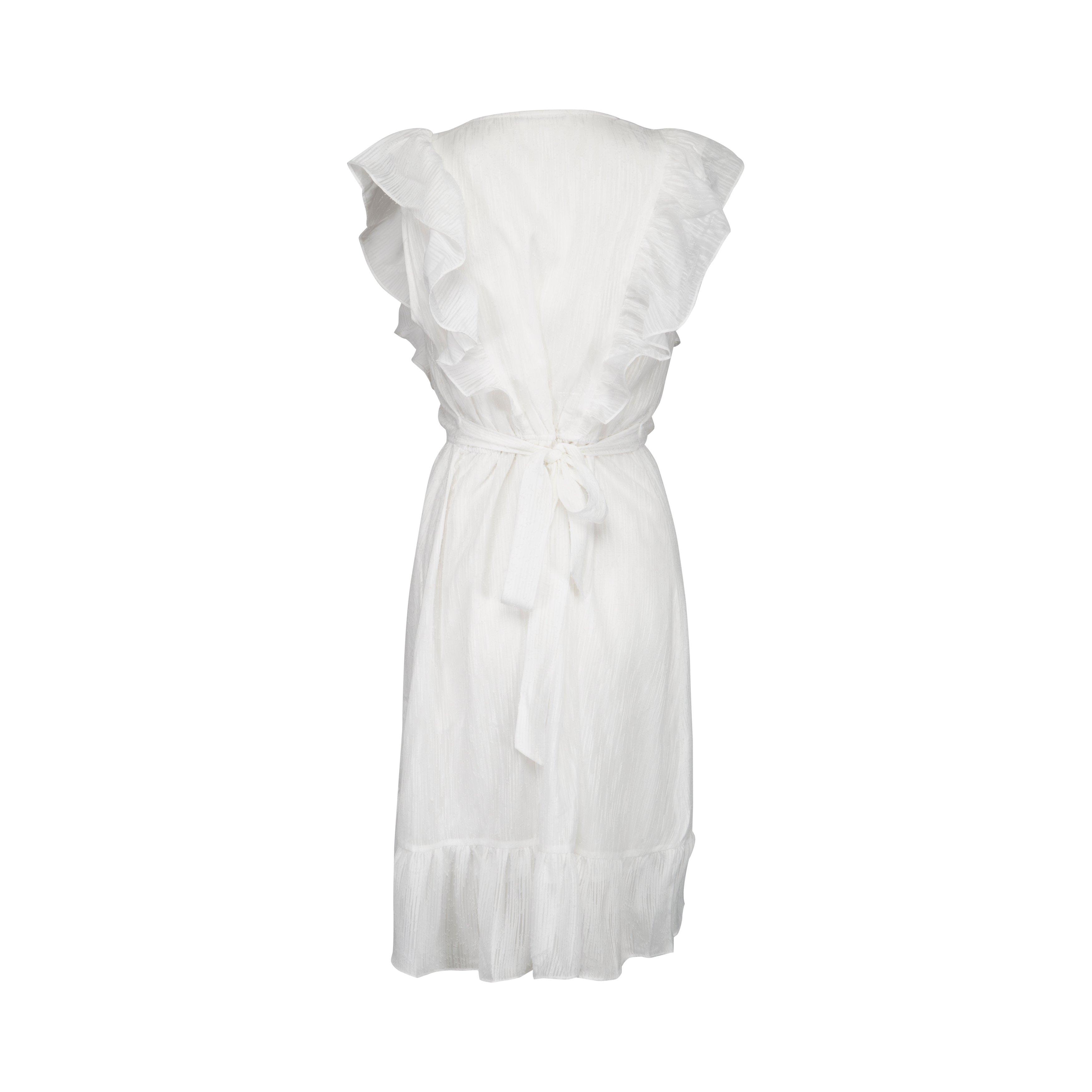 Sofie Schnoor vit klänning