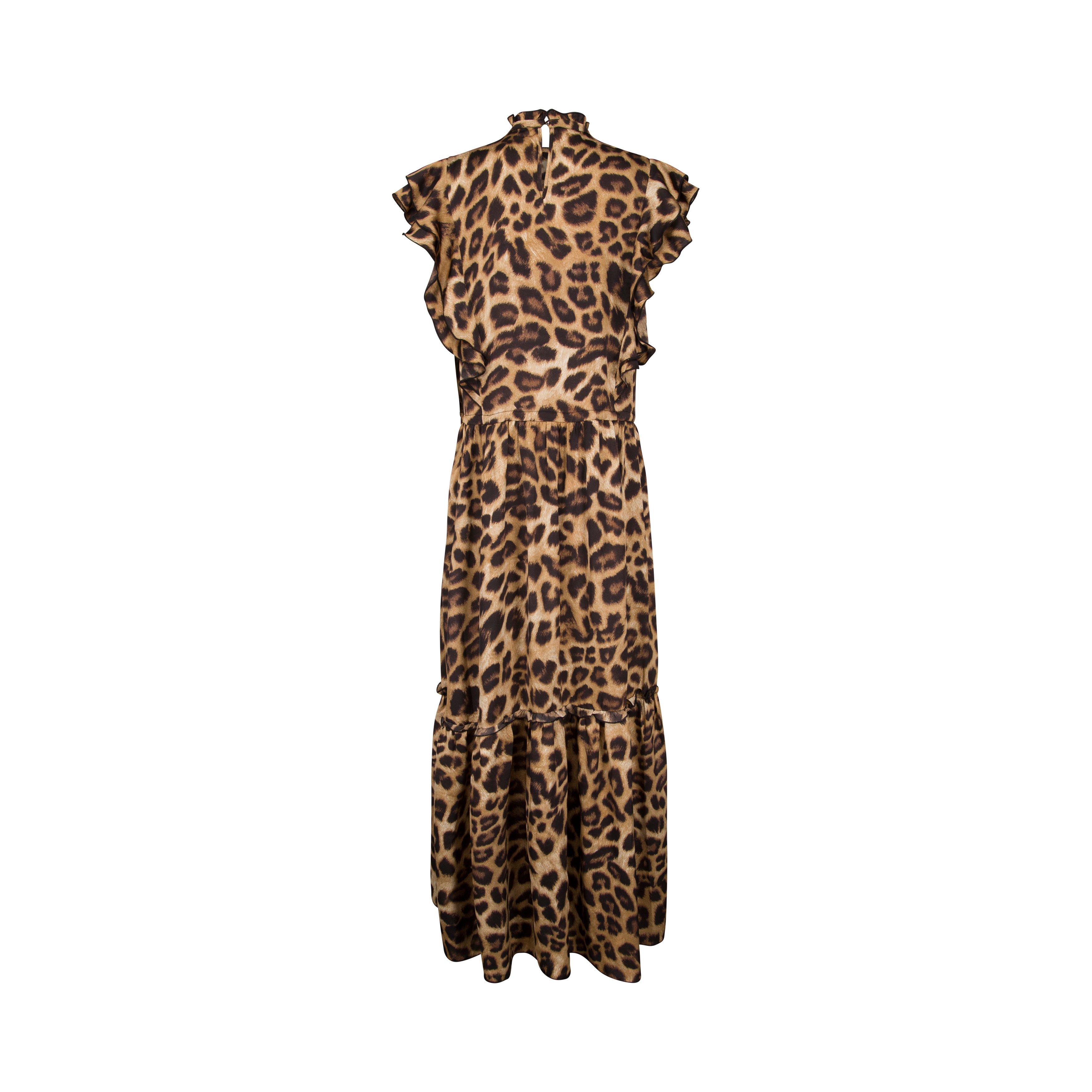 Sofie Schnoor Leopard maxiklänning