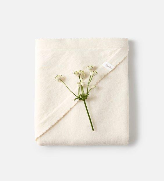 Newborn Blanket - Ivory