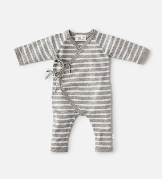 Newborn Wrap Onesie - Stripe