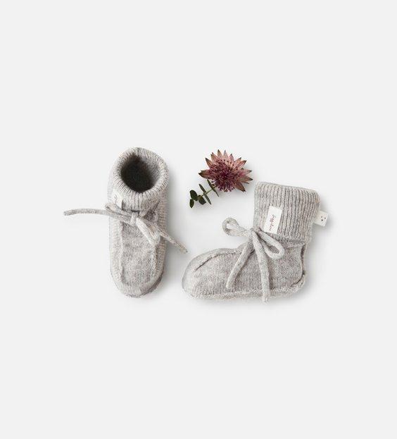 Booties - Grey