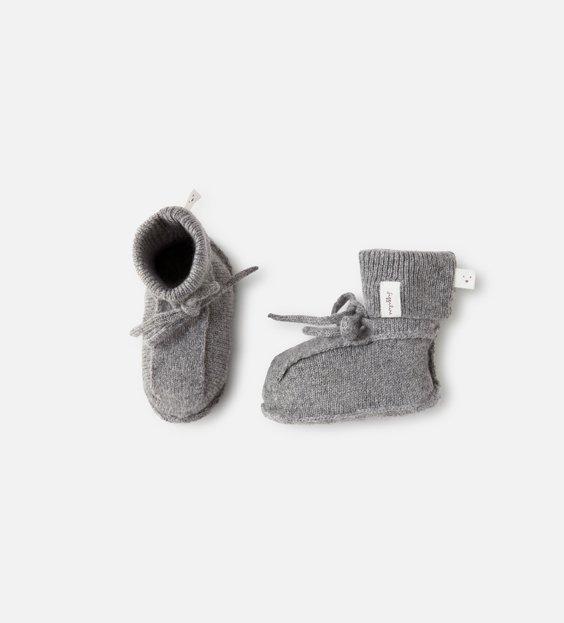 Booties - Charcoal