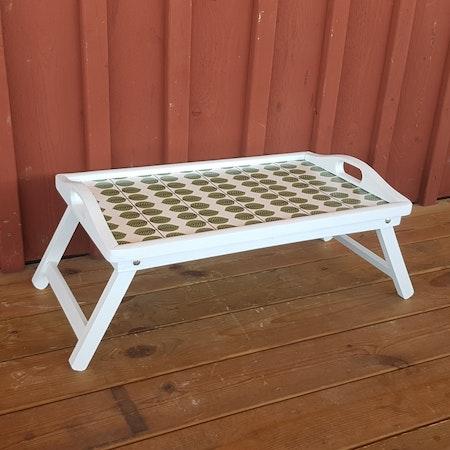 """Brickbord/picknickbord """"Kaffe på sängen"""""""