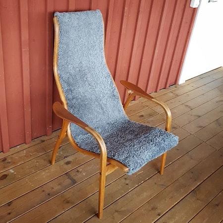 """Laminofåtölj Yngve Ekström """"Renoveringsuppdrag"""""""