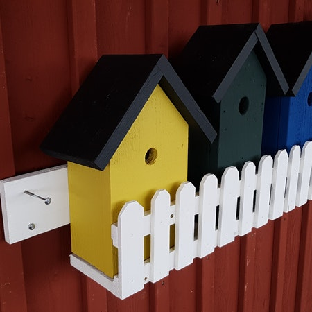 "Fågelholk "" Goda grannar"""