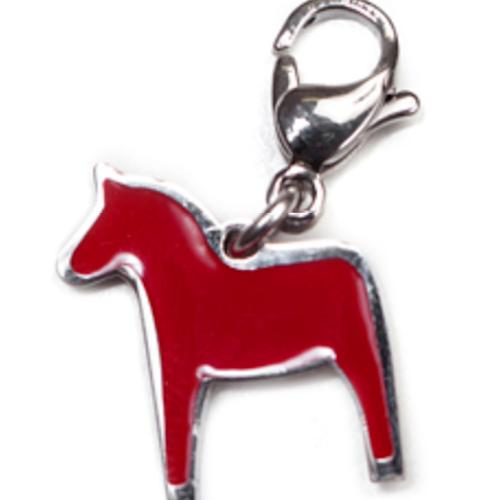 Berlock/ Charm 62782 Dalahorse Red