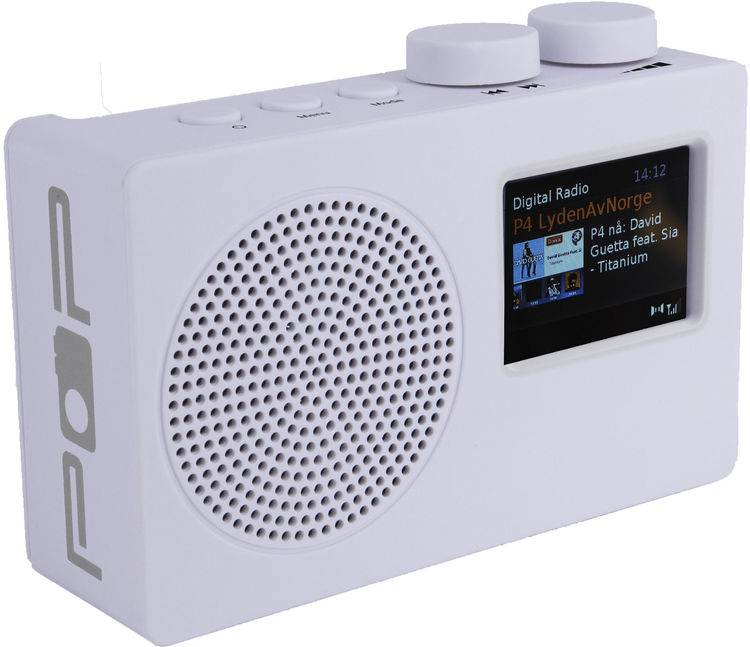 POPradio POP Deluxe - White