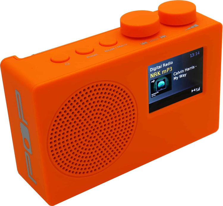 POPradio POP Deluxe - Orange