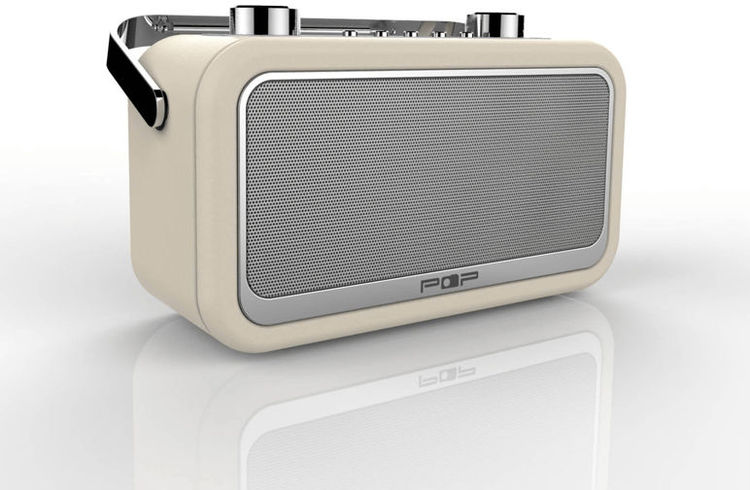 POPradio POP Vintage BT - Cream
