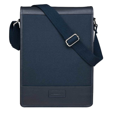 "DBRAMANTE1928 ORCHARD 14"" Laptop Messenger Bag - Blue"