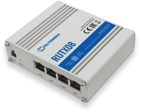 Teltonika RUTX08 Rugged Ethernet Router