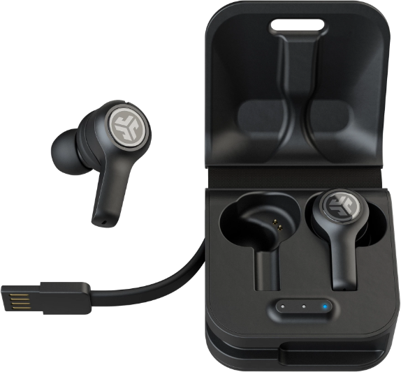 JLab JBuds Air Executive Earbuds - Black