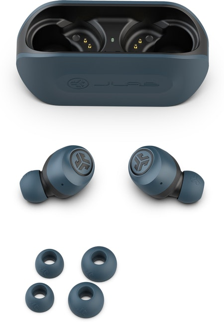 JLab Audio Go Air Wireless Earbuds - Blue/Black