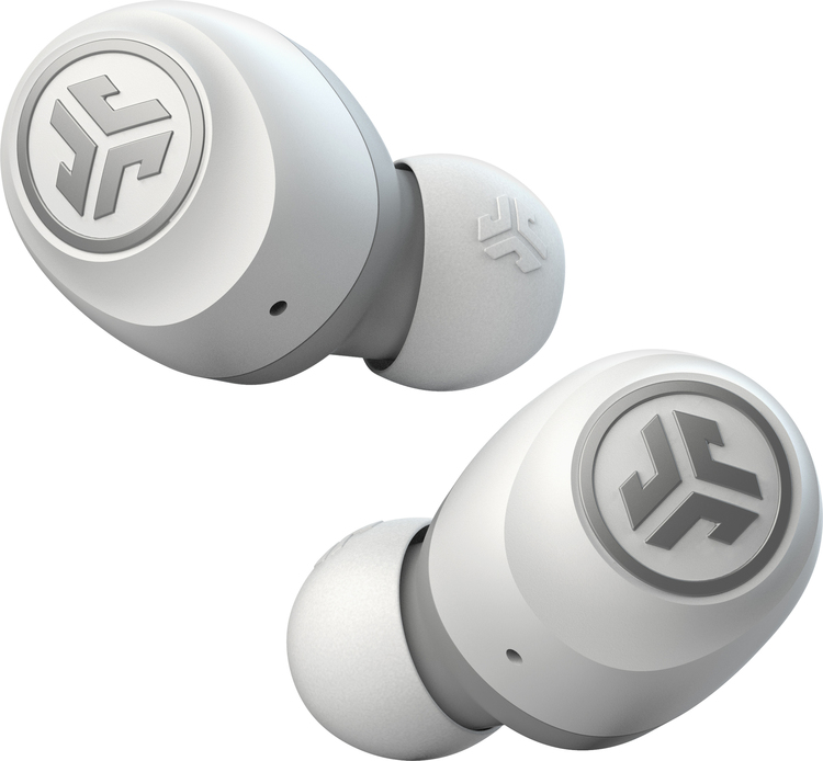 JLab Audio Go Air True Wireless Earbuds - White