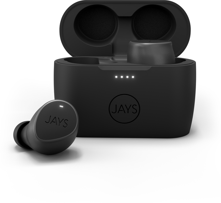 Jays m-Seven True Wireless - Black